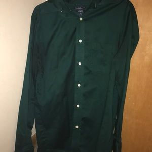 Green Croft and barrow dress shirt